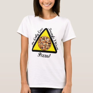 The Pizza Love Triangle - T-Shirt
