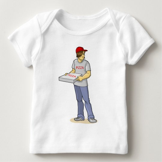 The Pizza Man Baby T-Shirt