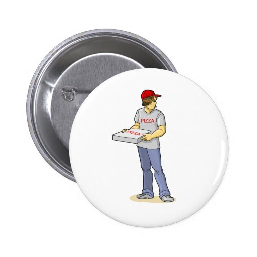 The Pizza Man Button