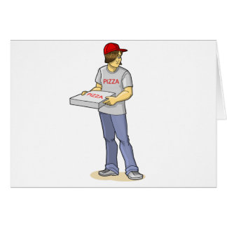 The Pizza Man Card