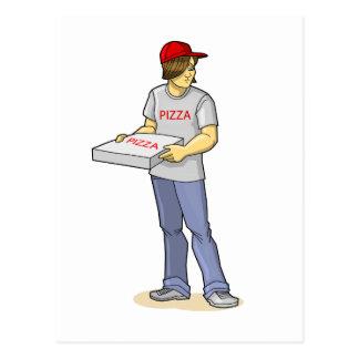 The Pizza Man Postcard
