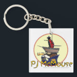 """The PJ McMouse Keychain! Keychain<br><div class=""""desc"""">When you&#39;re looking for strength from within,  Just say &quot;Don&#39;t Mess with the Grasshopper Mouse!&quot;</div>"""