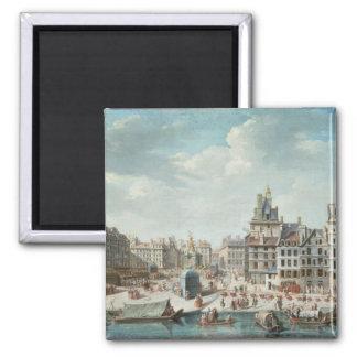 The Place de Greve, Paris Magnet