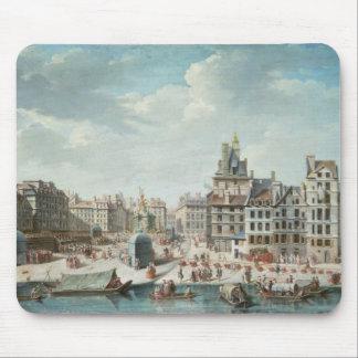 The Place de Greve, Paris Mouse Pad