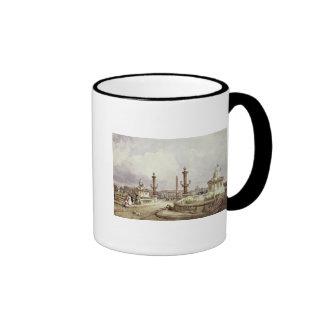 The Place de la Concorde, c.1837 Ringer Mug