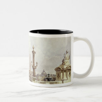 The Place de la Concorde, c.1837 Two-Tone Coffee Mug