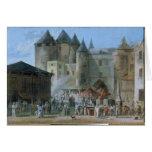 The Place de l'Apport-Paris Card