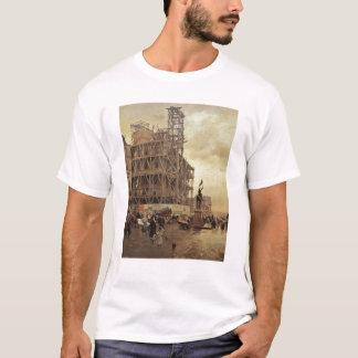 The Place des Pyramides, Paris, 1875 T-Shirt