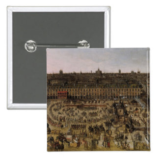 The Place Royale and the Carrousel in 1612 Button
