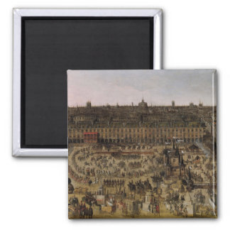 The Place Royale and the Carrousel in 1612 Magnet
