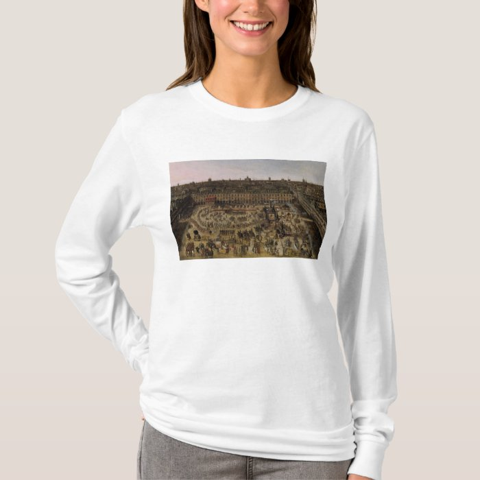 The Place Royale and the Carrousel in 1612 T-Shirt