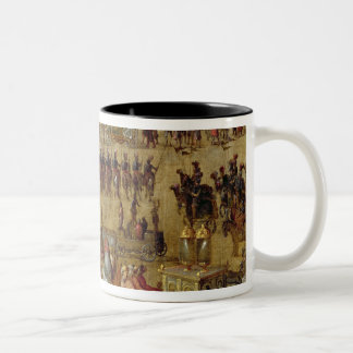 The Place Royale and the Carrousel in 1612 Two-Tone Coffee Mug