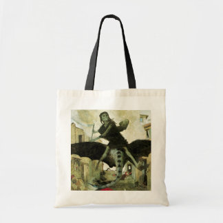 The Plague by Arnold Bocklin, Vintage Symbolism Bags