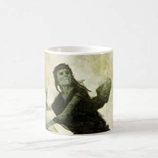 The Plague by Arnold Bocklin, Vintage Symbolism Coffee Mug