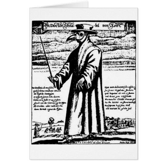 The Plague Doctor. Card