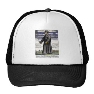 The Plague Doctor. Mesh Hat