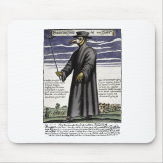 The Plague Doctor. Mousepad