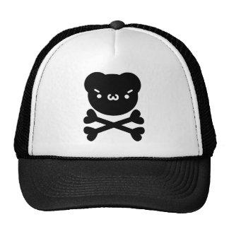 The plain gauze it comes and - is the ku ma do ku  trucker hat