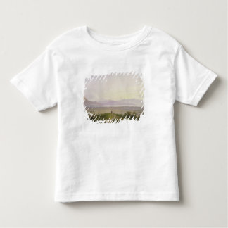 The Plains of Marathon, 1834 (graphite & w/c with Toddler T-shirt