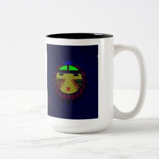 'The Plains' Two-Tone Coffee Mug