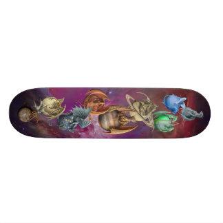 The Planet Dragons Skateboard Deck