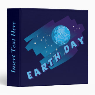 The Planet Earth Day Avery Binder