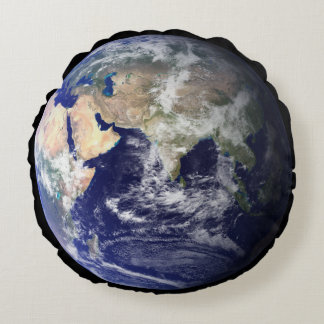 The Planet Earth! Double-Sided! Amazing! Round Pillow