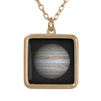 The Planet Jupiter Gold Plated Necklace