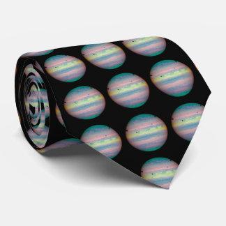 The Planet Jupiter Neck Tie