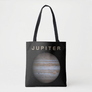 The Planet Jupiter - See Both Sides Tote Bag