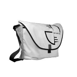 The Planet Knew Messenger Backpack Bag