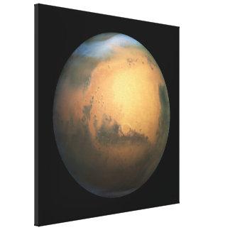 The Planet Mars - 3D Effect Canvas Print