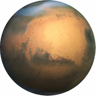 The Planet Mars - 3D Effect Statuette