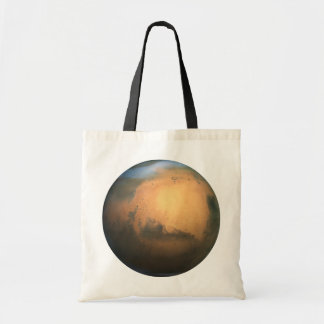 The Planet Mars - 3D Effect Tote Bag