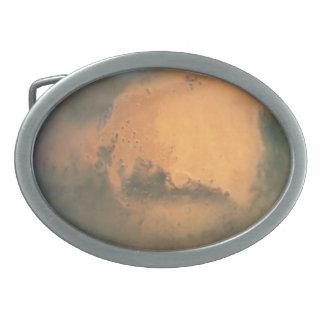 The Planet Mars Belt Buckle