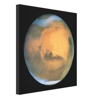 The Planet Mars Canvas Print