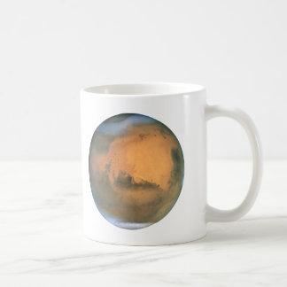 The Planet Mars Classic White Coffee Mug