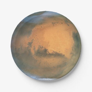 The Planet Mars Paper Plate
