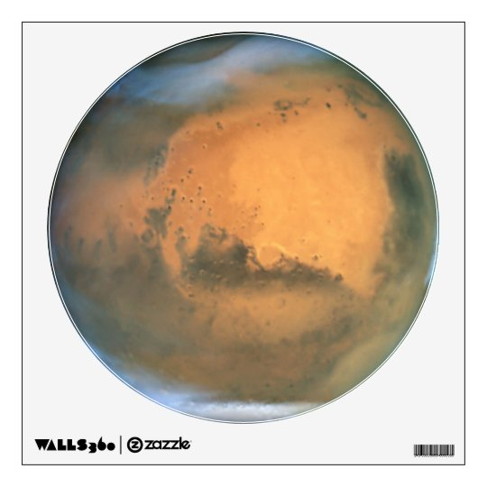 The Planet Mars Wall Decal