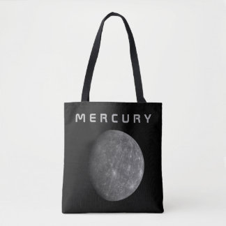 The Planet Mercury - See Both Sides Tote Bag