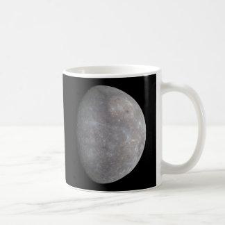 The Planet Mercury taken by the probe Messenger Classic White Coffee Mug