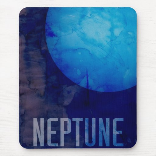 The Planet Neptune Mouse Pad