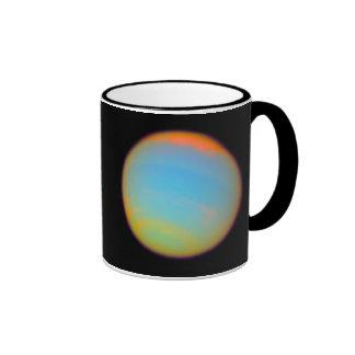 The Planet Neptune Ringer Coffee Mug
