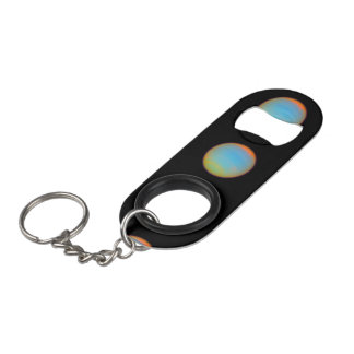 The Planet Neptune - See Both Sides Keychain Bottle Opener