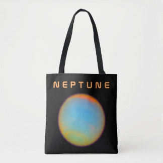 The Planet Neptune - See Both Sides Tote Bag