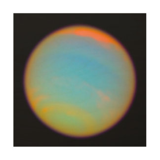 The Planet Neptune Wood Wall Decor