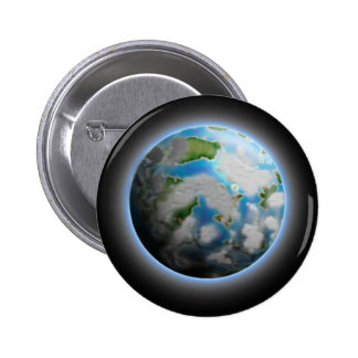 The Planet Pinback Button