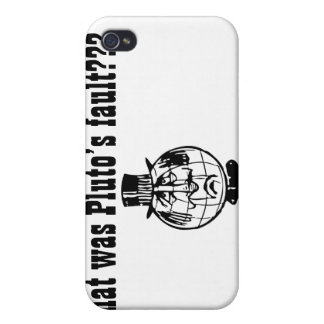 The Planet Pluto 4/4s  iPhone 4 Cover
