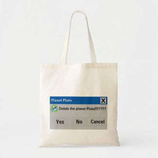 The Planet Pluto Bag