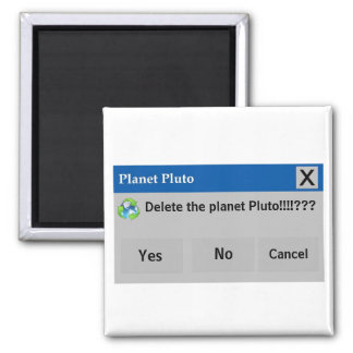 The Planet Pluto Magnet